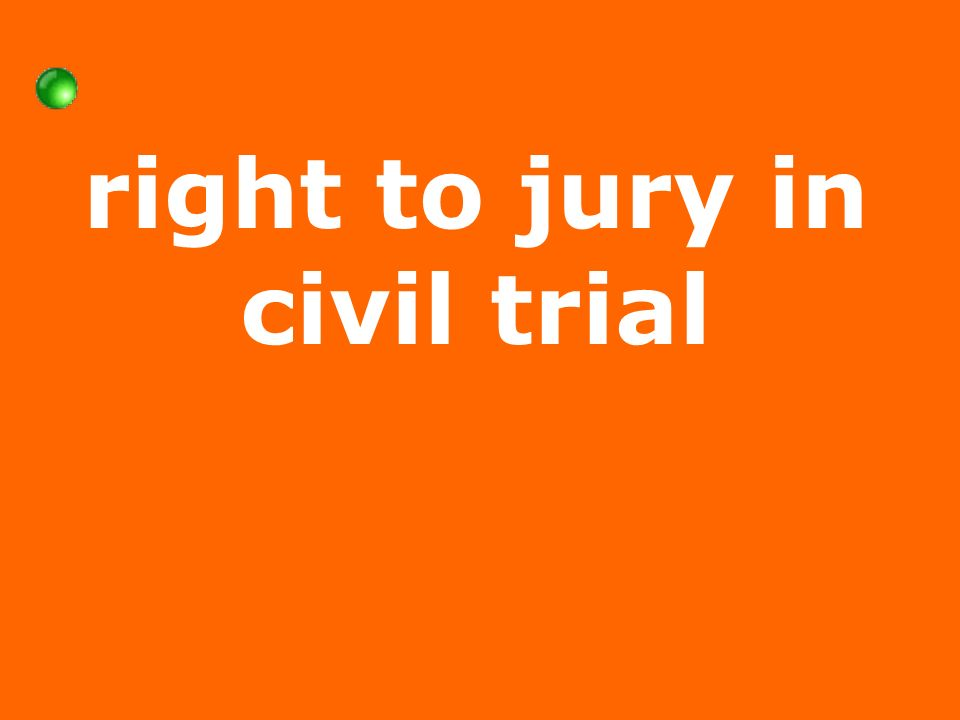 right to jury in civil trial