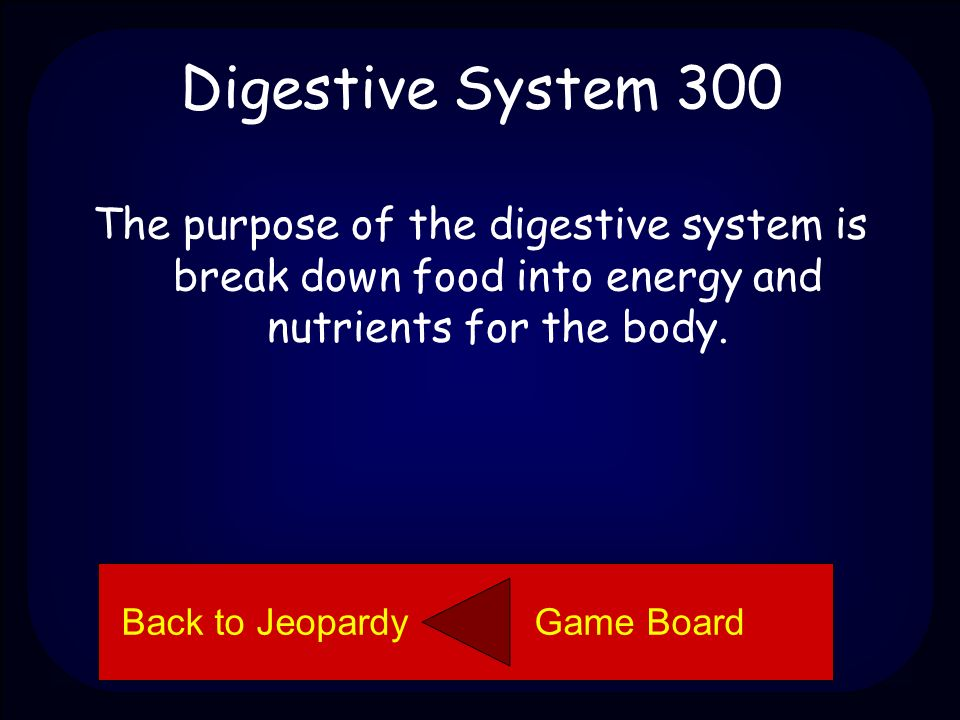 Moon Phases 300 What is the purpose of the digestive system.