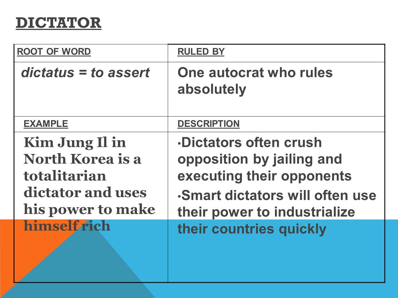 a comparison between democratic and dictatorial types of government A comparison between democratic and dictatorial types of government dictatorship, democracy, democratic government, dictatorial government, dictatorial.