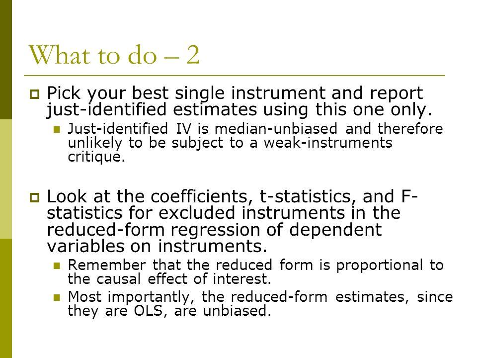 Instrumental Variables: Problems Methods of Economic Investigation ...