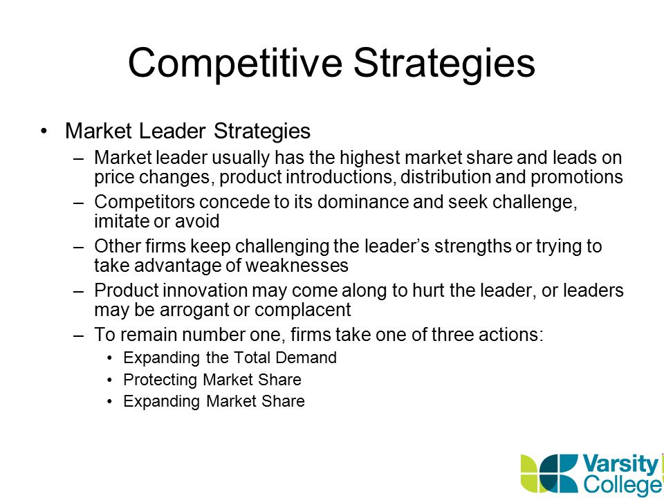 market dominance strategies