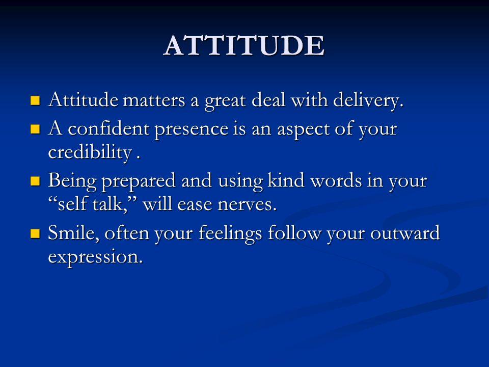 2 ATTITUDE ...