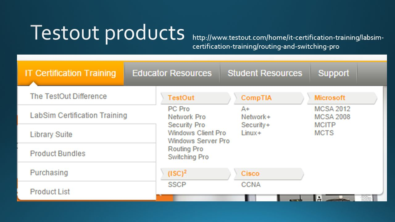 Certification trainingrouting and switching pro ppt download 5 httptestouthomeit certification traininglabsim certification trainingrouting and switching pro 1betcityfo Gallery
