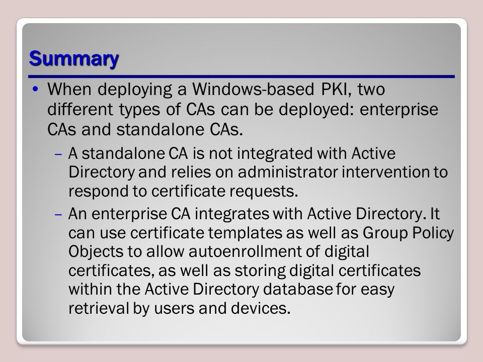 Add certificate template to standalone ca gallery certificate add certificate template to standalone ca gallery certificate configuring directory certificate services lesson ppt download 23 yelopaper Image collections