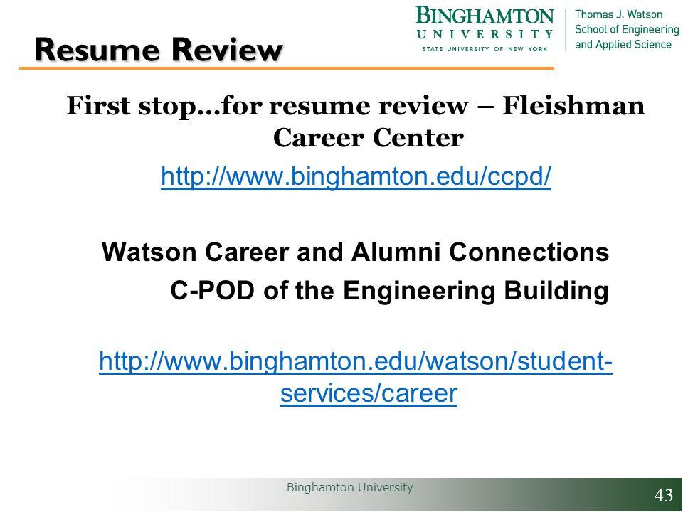 watson career and alumni connections 2 binghamton university
