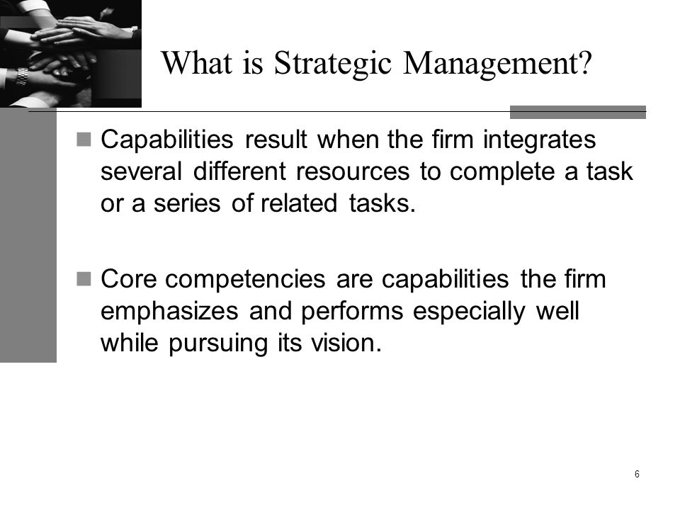 What is Strategic Management.