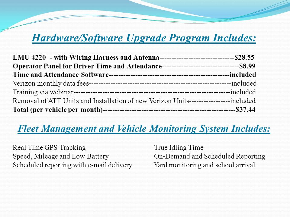 slide_2 hardware software upgrade program hardware software upgrade wiring harness program at readyjetset.co