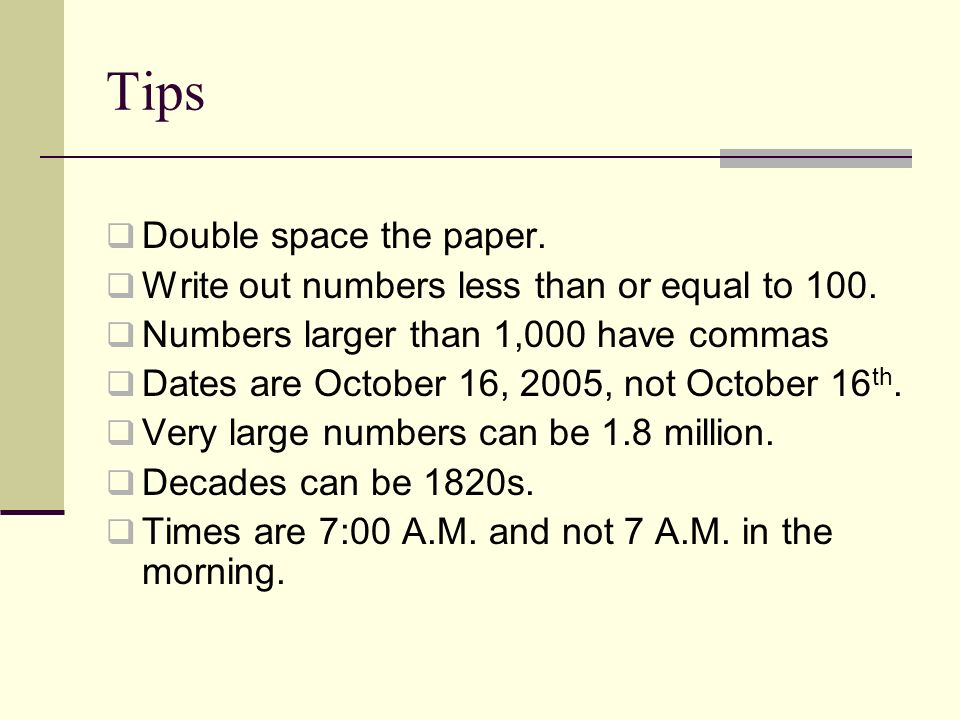 proper way to write numbers in a research paper Why publish •scientists publish to share with the research community findings that advance knowledge and understanding •to present new, original results or methods •to rationalize published results •to present a review of the field or to summarize a.