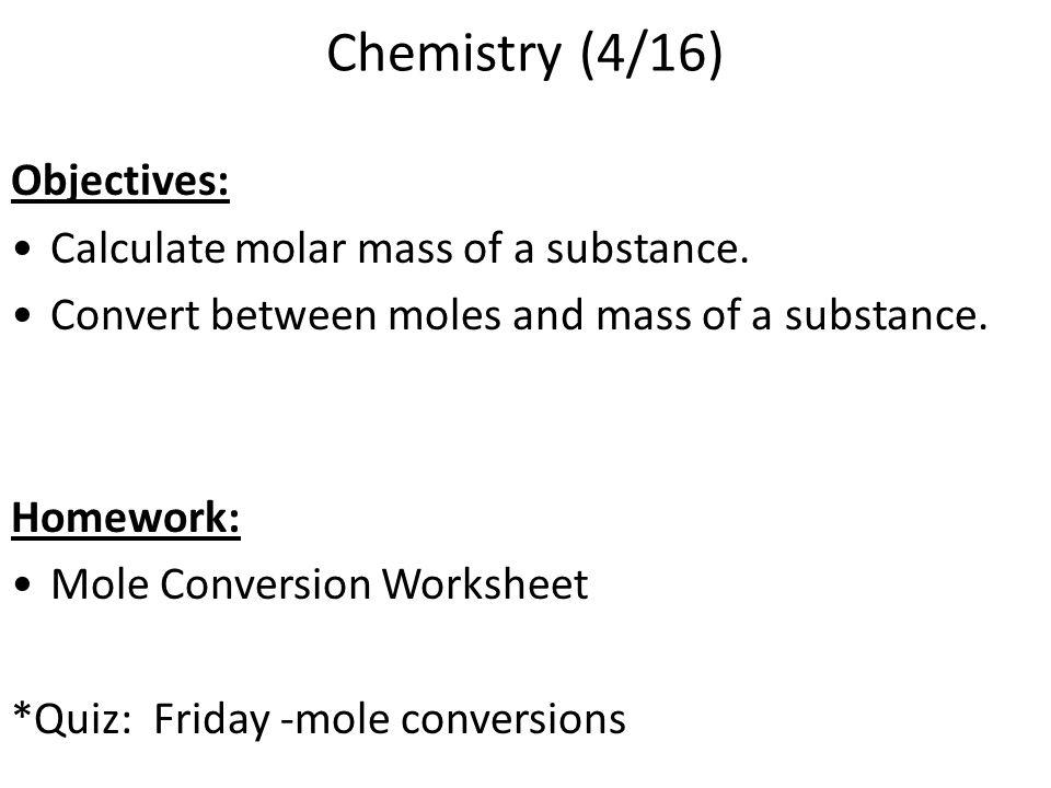 Moles are a Chemist Best Friend Chapter 10 nclark.net. - ppt download