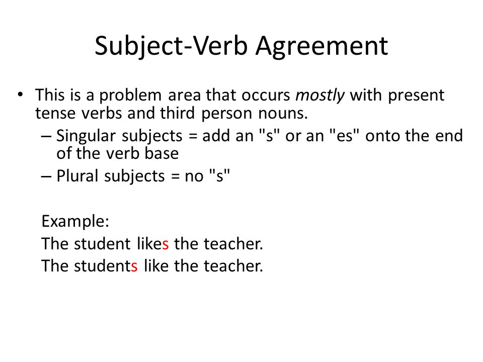 introducing essay illustration writing subject verb agreement  4 subject verb
