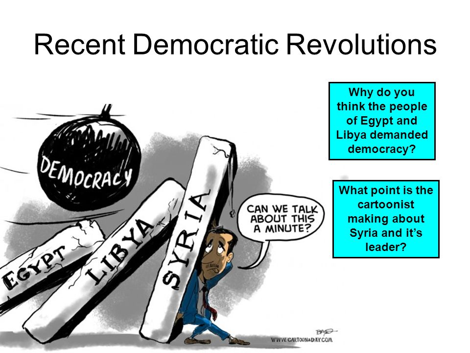 Aim: Is Democracy the best form of government? Do Now: List the ...