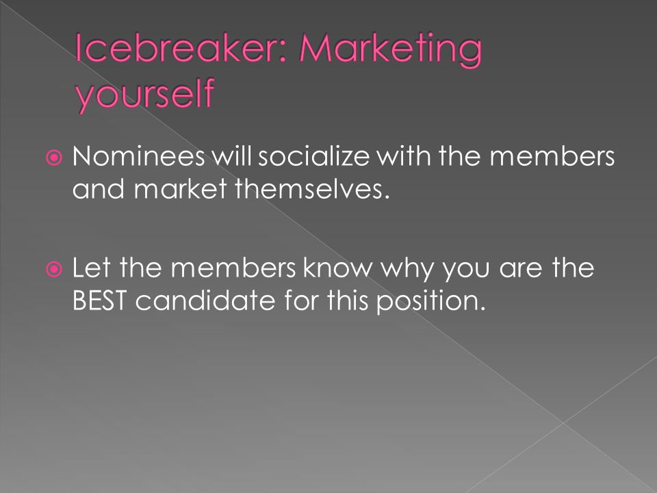let the members know why you are the best candidate for this position - Why Are You The Best Candidate For This Position