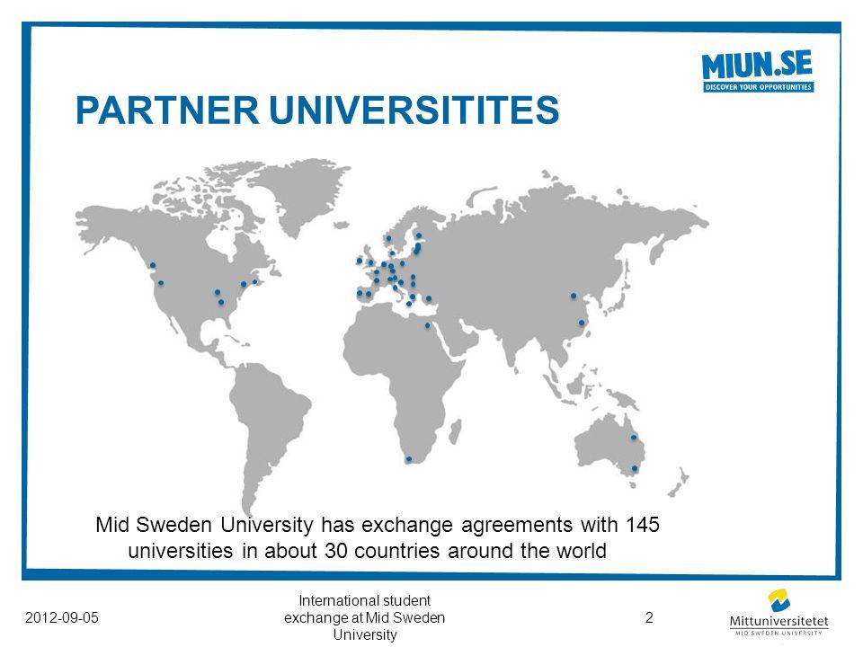INTERNATIONAL STUDENT EXCHANGE AT MID SWEDEN UNIVERSITY Ppt - Mid sweden university map
