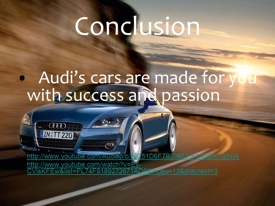 audi swot analysis Presented here is a current and detailed swot analysis of the premium car brand audi strengths, weaknesses, opportunities, threats and recommendations.