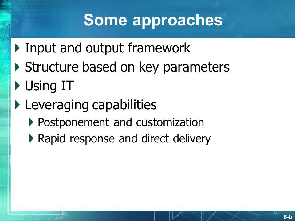 direct output framework