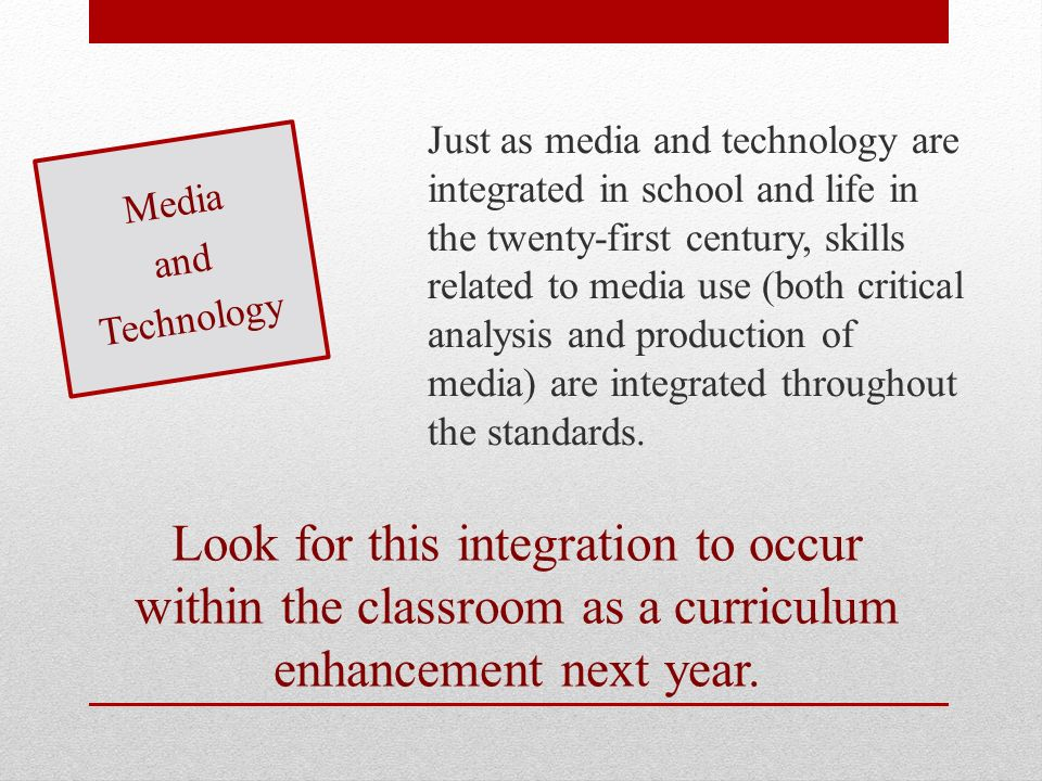 Look for this integration to occur within the classroom as a curriculum enhancement next year.