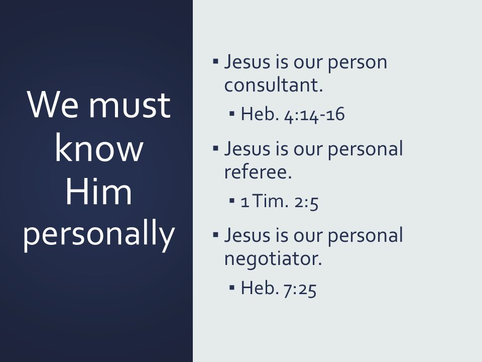 personal referee