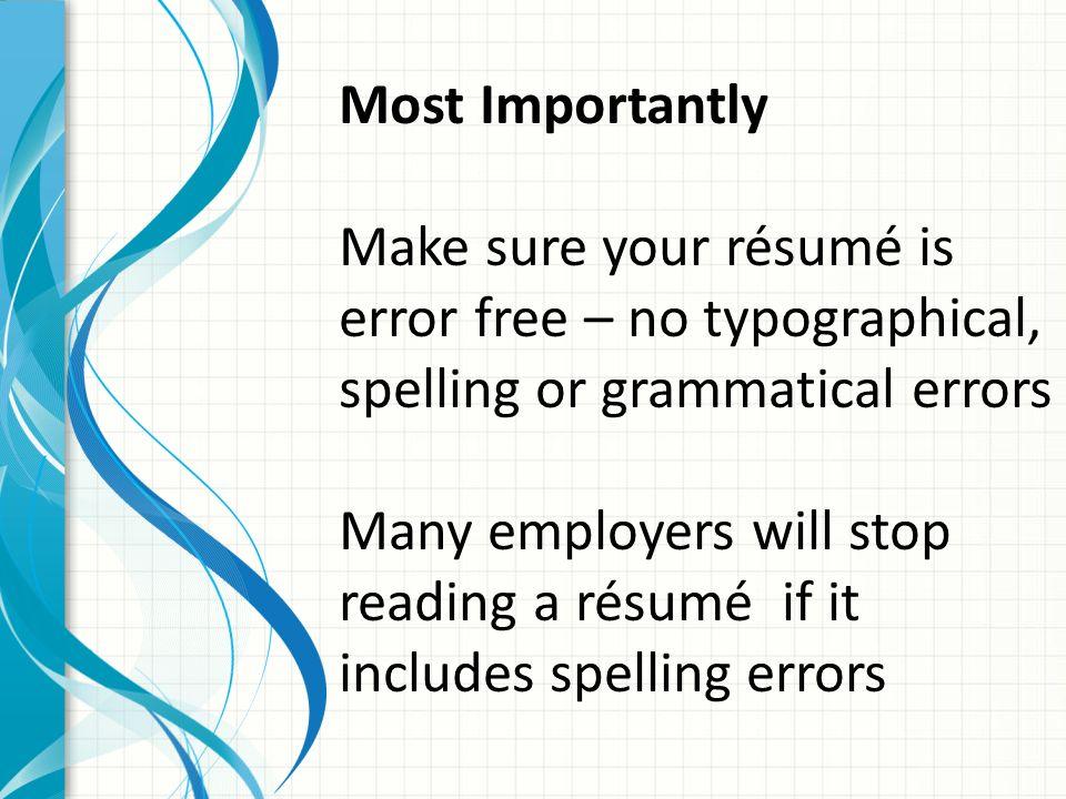 r ÉsumÉ w riting what is a résumé a way to positively promote