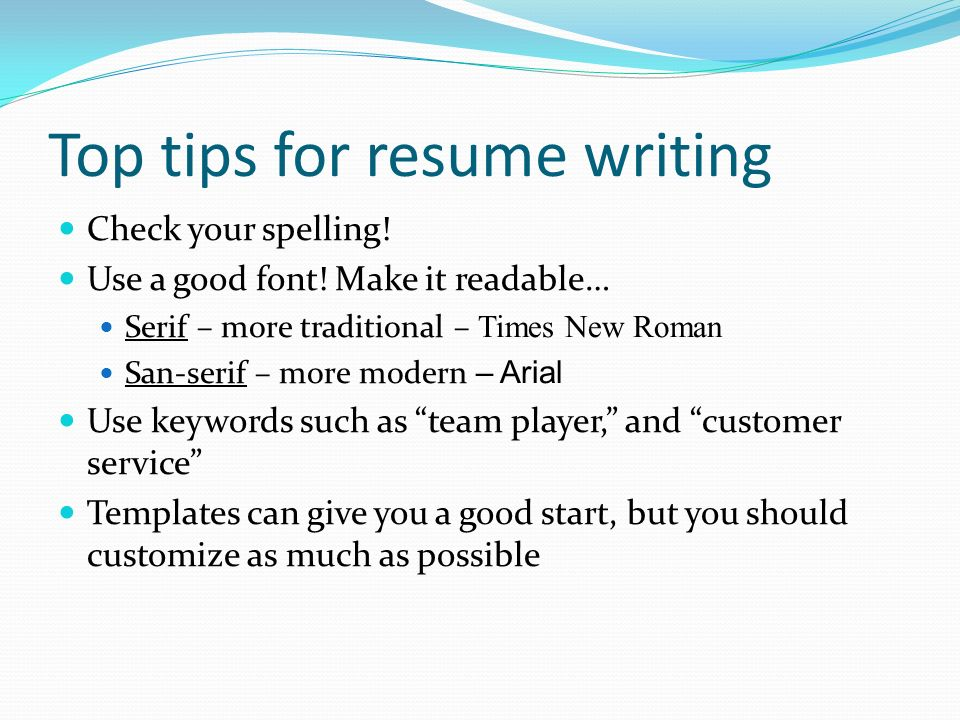 Resume Writing Tips  Honors Awards and Accomplishments