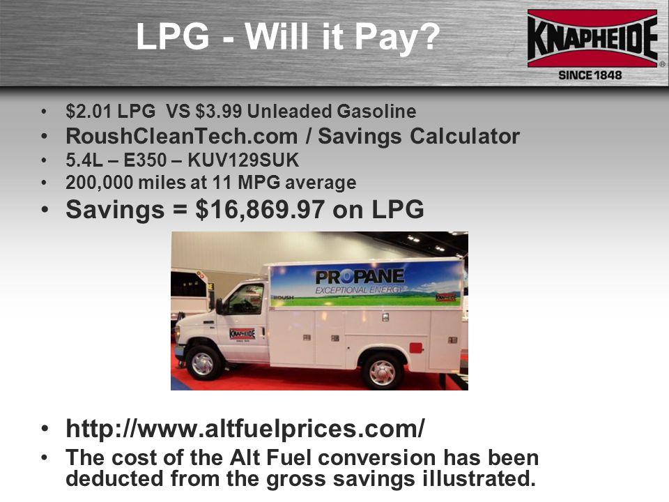 Lpg Van Conversion Costs