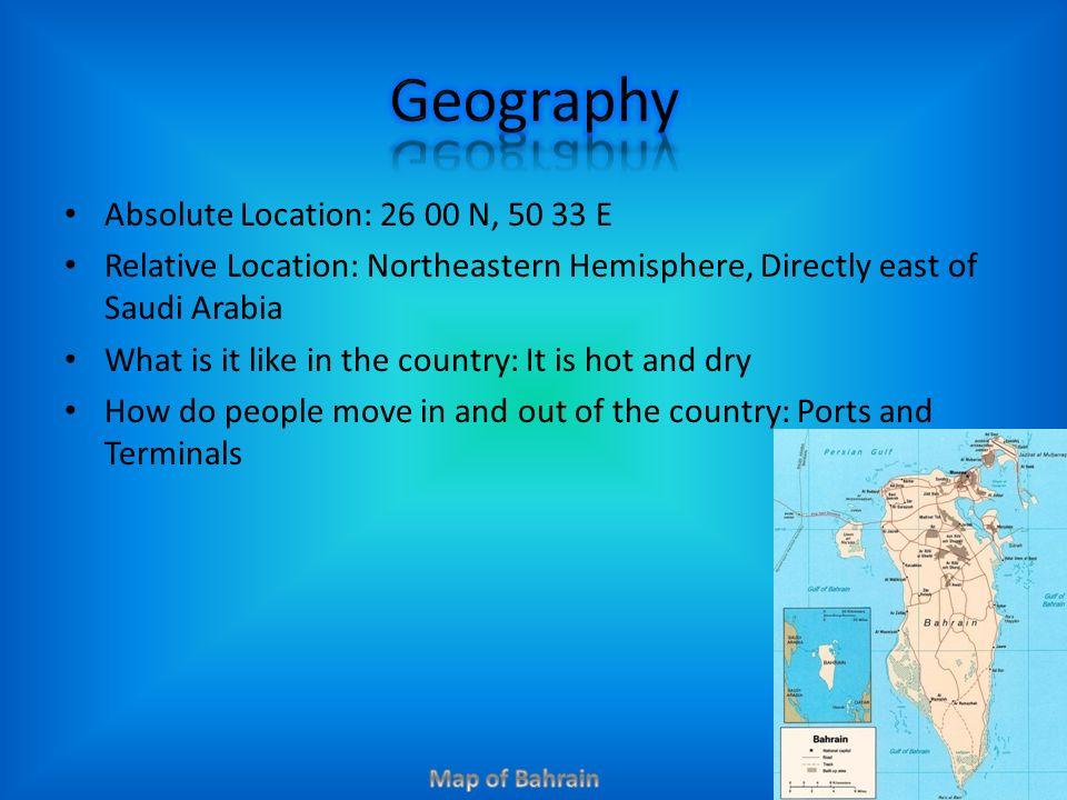 Absolute Location N E Relative Location Northeastern Hemisphere - Jerusalem absolute location