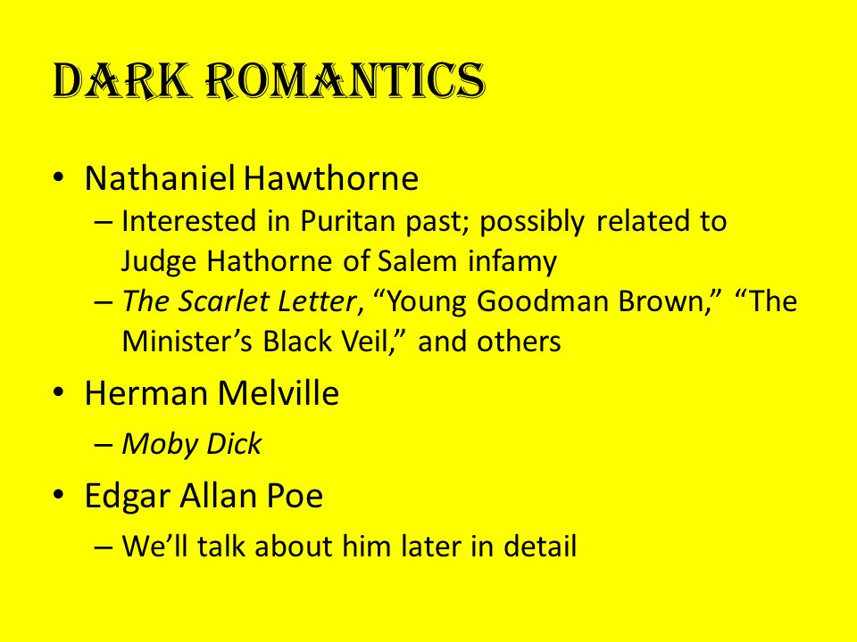 puritanism vs romanticism in nathaniel hawthornes the scarlet letter
