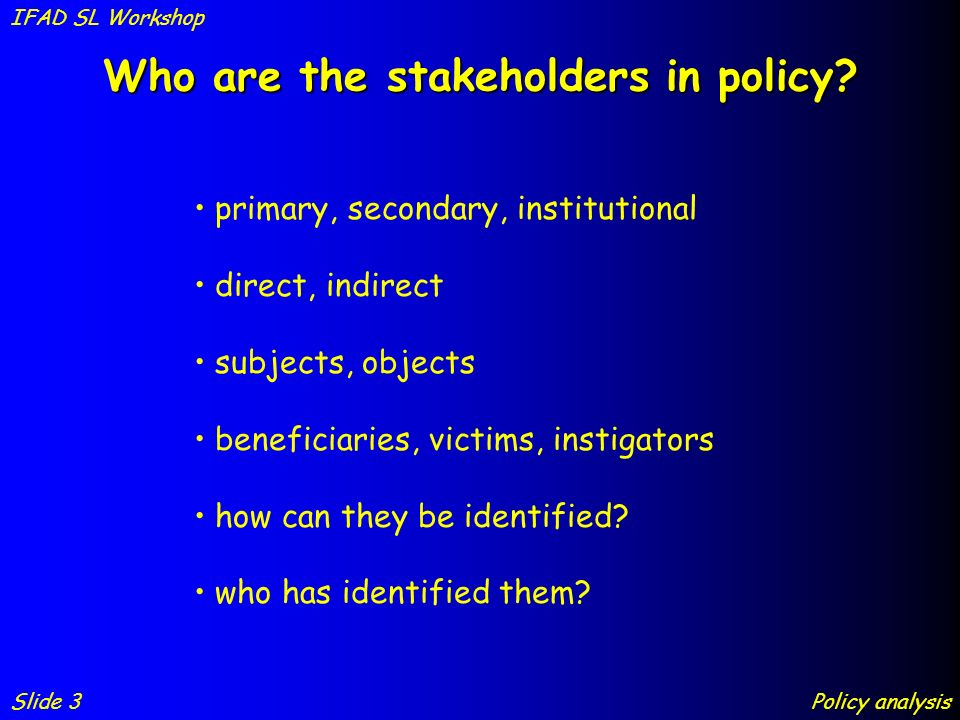 who are the stakeholders of the body shop Stakeholders on the other hand, can be anyone who has an interest in the company, whether it is a direct interest or an indirect interest thus stakeholders can be known as the company's suppliers, its customers, the local community, employees and any other individual who has any sort of interest in the organization.