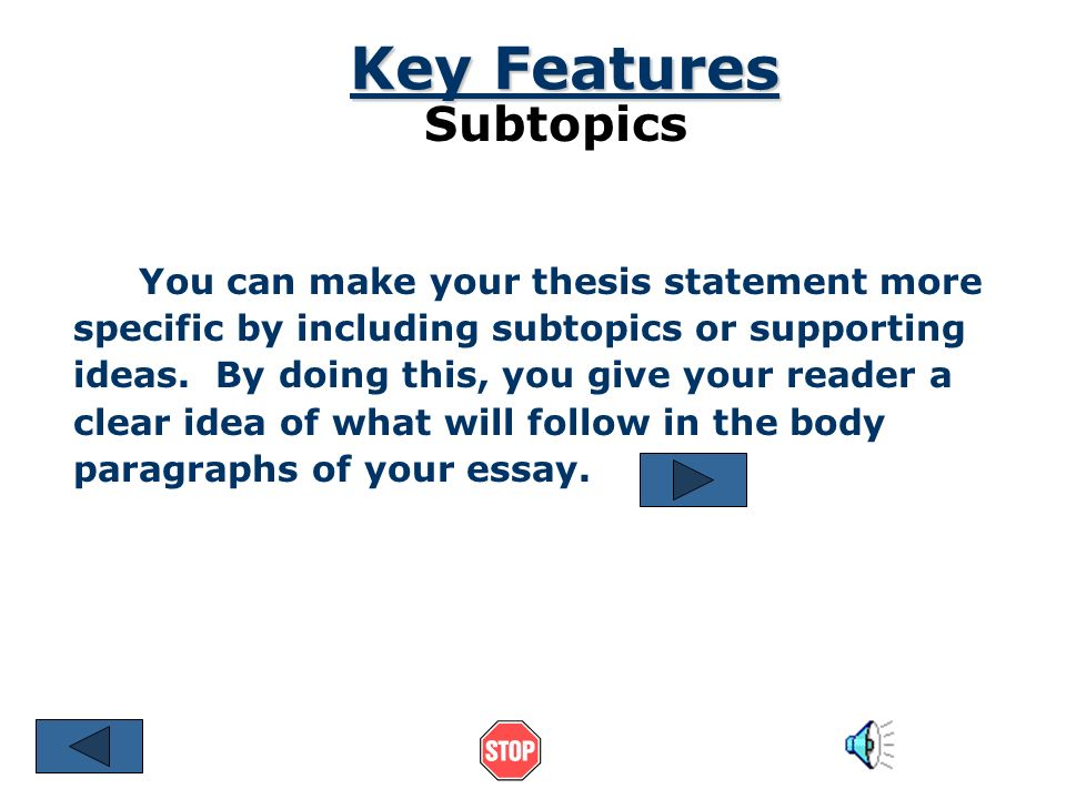 descriptive essay help thesis Descriptive thesis a descriptive thesis is a paper that contains a detailed description of people, events, processes, emotions etc it demonstrates the object.