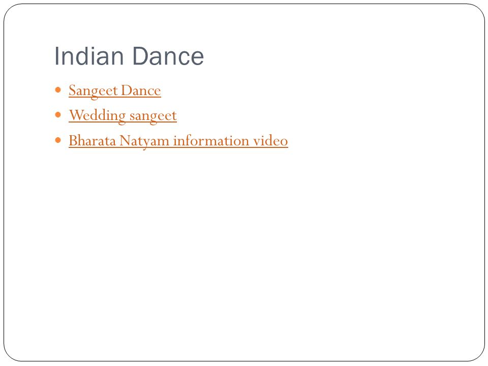 Indian Dance Sangeet Dance Wedding sangeet Bharata Natyam information video
