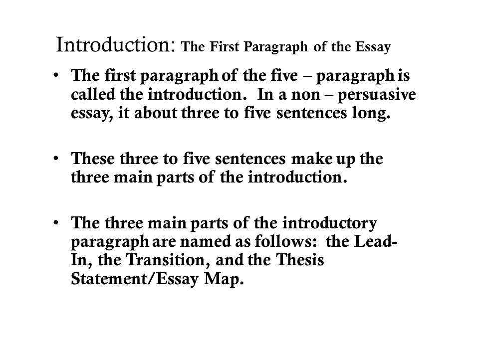 an introduction to the essay on the topic of mohammed sanjaria How to buy cheap essay essay writing is the trend of the day whatever we do what does it take to write an essay there are countless topics.