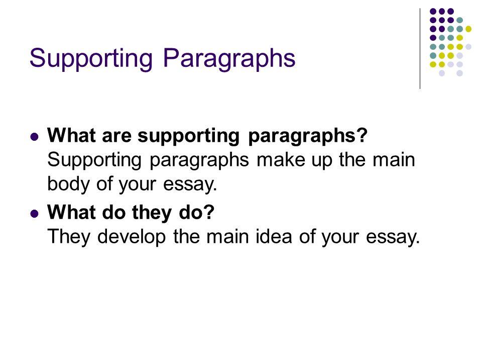 BBC - GCSE Bitesize: The main body of the essay