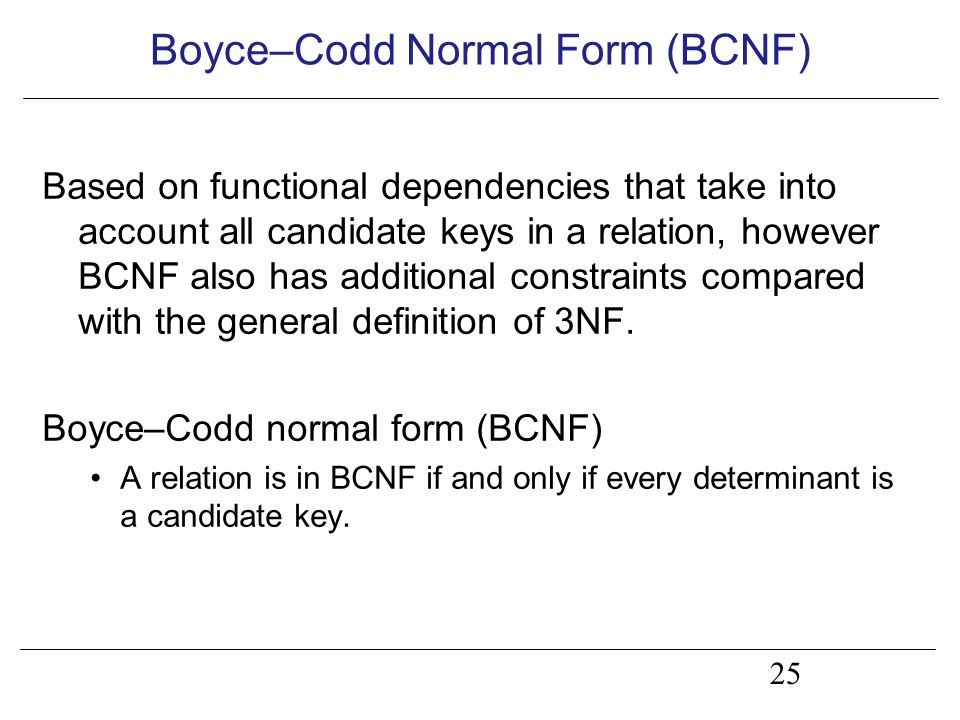 Lecture 6 Normalization: Advanced forms. Objectives How inference ...