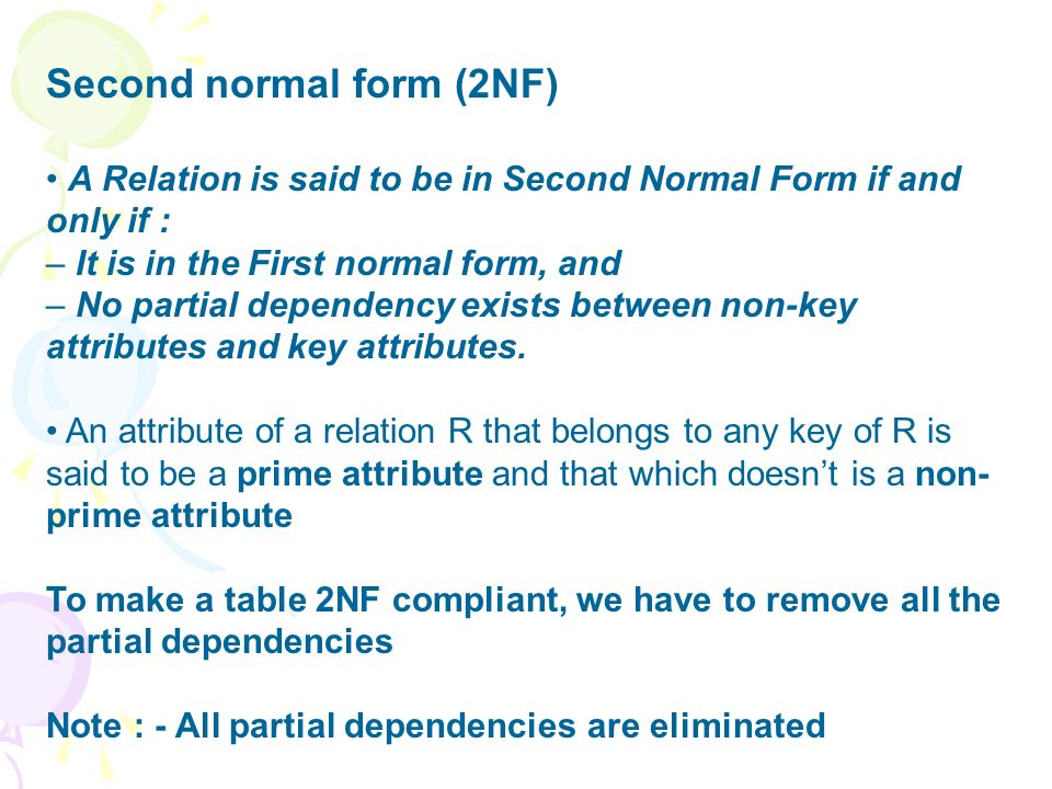 Chapter 6 - Relational Database Design First Normal Form Pitfalls ...