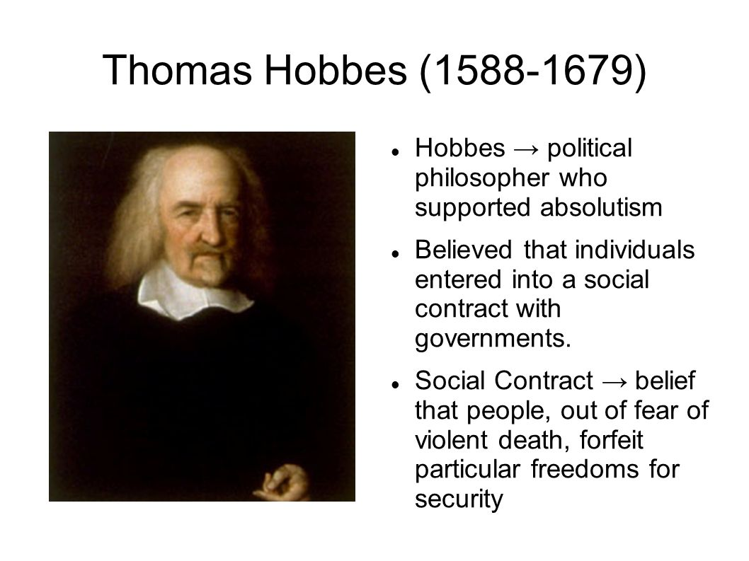Thomas Hobbes Social Contract Quotes Key Terms  The Enlightenment Thomas Hobbes Social Contract John