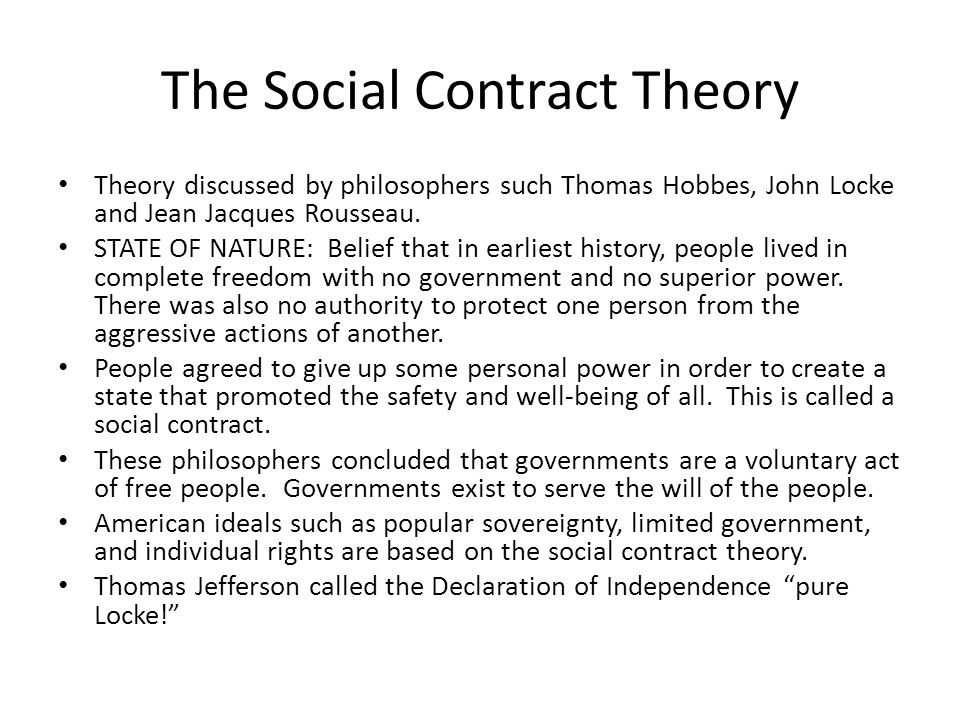rousseau essay social contract Short essay on social contract theory of the origin of society the social contract theory throws light on the origin of the society according to this theory all men.