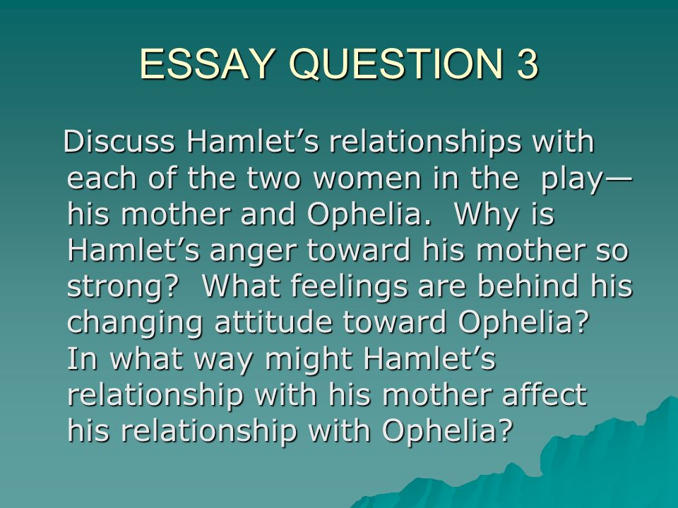 analysis of hamlet s first soliloquy essay Essays and criticism on william shakespeare's hamlet - essays in his first soliloquy (i, ii), hamlet proclaims analysis of act five of shakespeare's hamlet.
