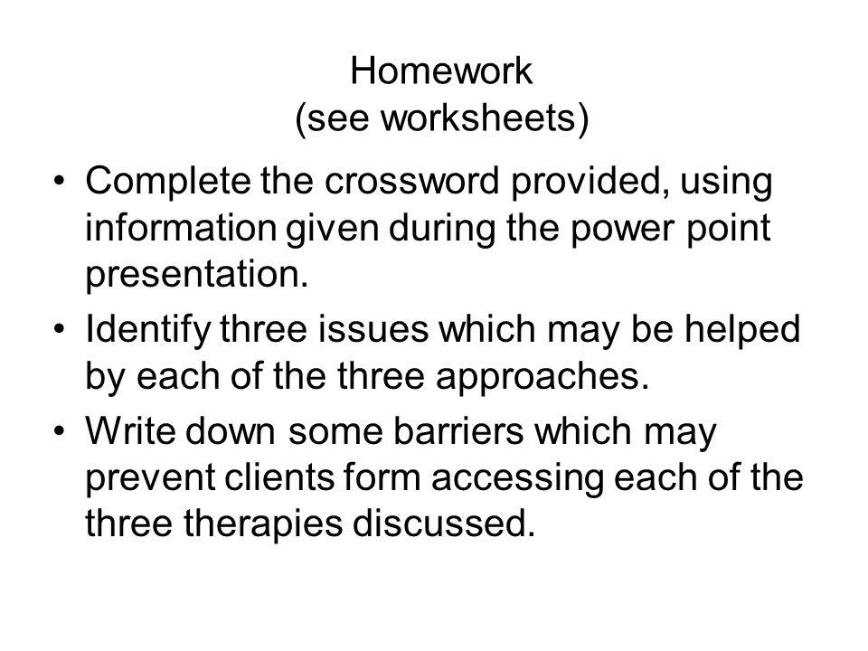 Homework helper vocabulary