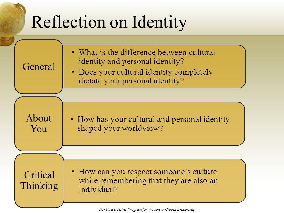 Essay personal identity