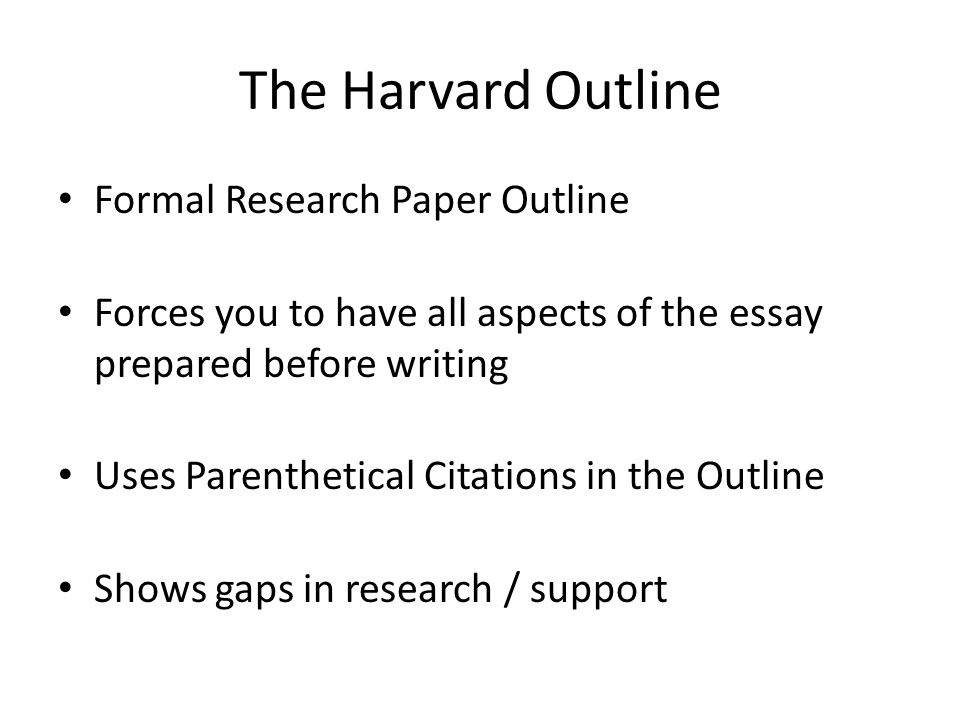 the outline of a research paper A preliminary outline for a research paper is an organized list of topics to be included in the research paper along with notes under each topic about the details to be written in the paper outlines can also be completed with charts and index cards.