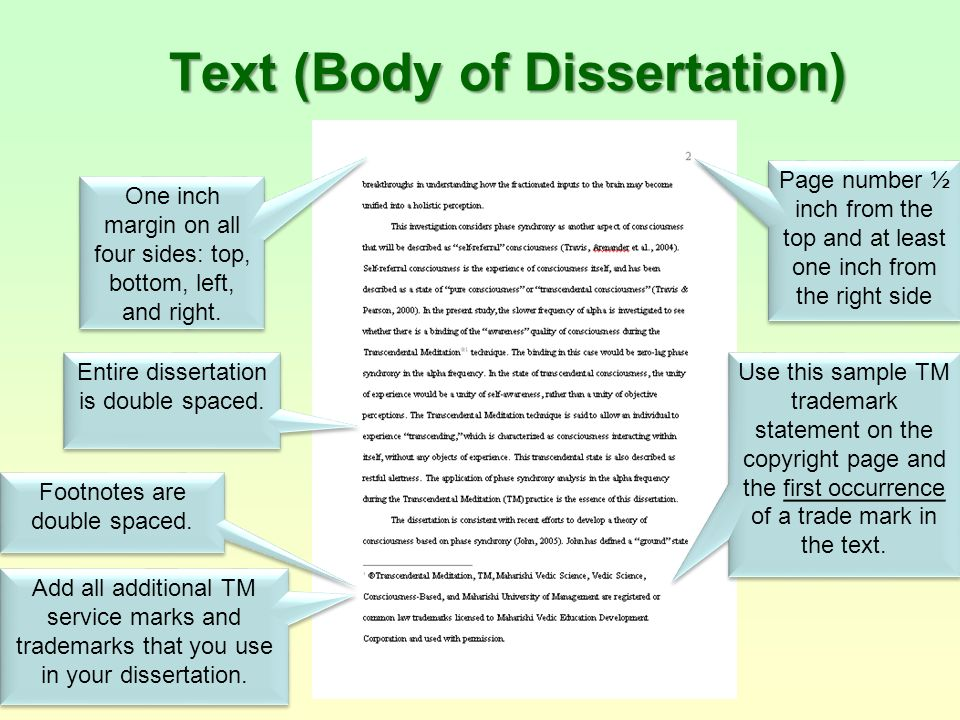 Copyright Images Dissertation