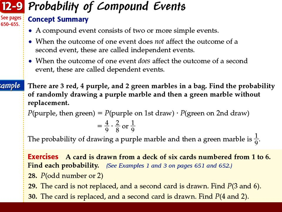 Calculating Probabilities of Combined Events | CK-12 Foundation
