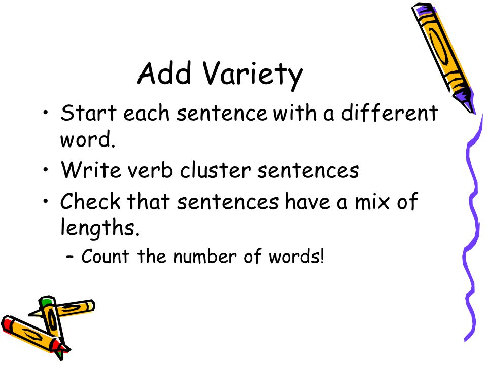 essay number of words