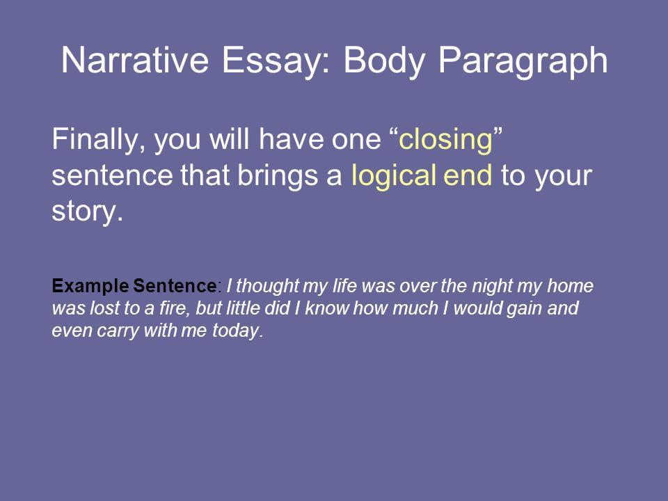 My Life Story Essay Example