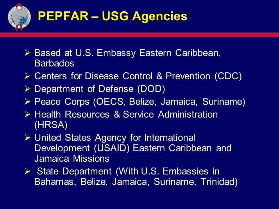 PEPFAR – USG Agencies  Based at U.S.