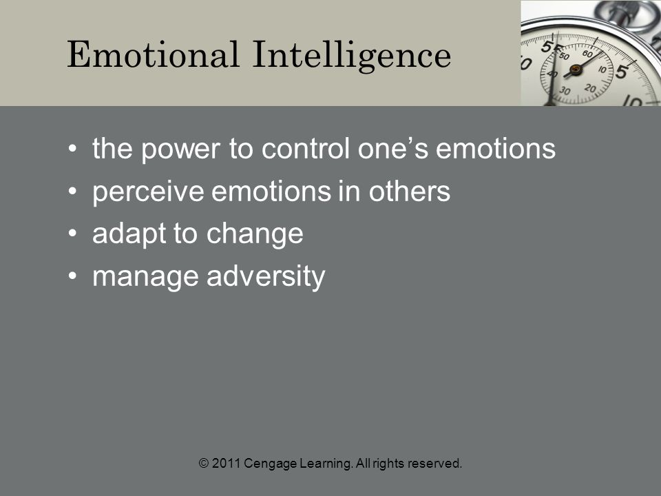 © 2011 Cengage Learning. All rights reserved.