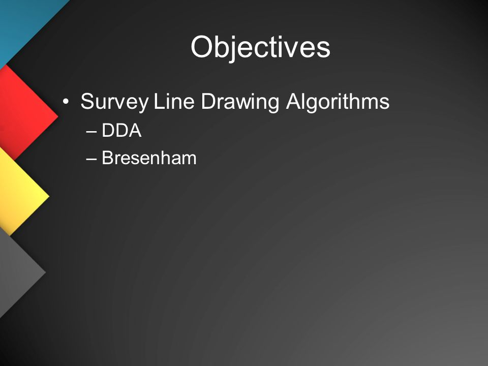 Implementation Of Line Drawing Algorithm In C : Cs 480 680 computer graphics implementation iii dr. frederick c