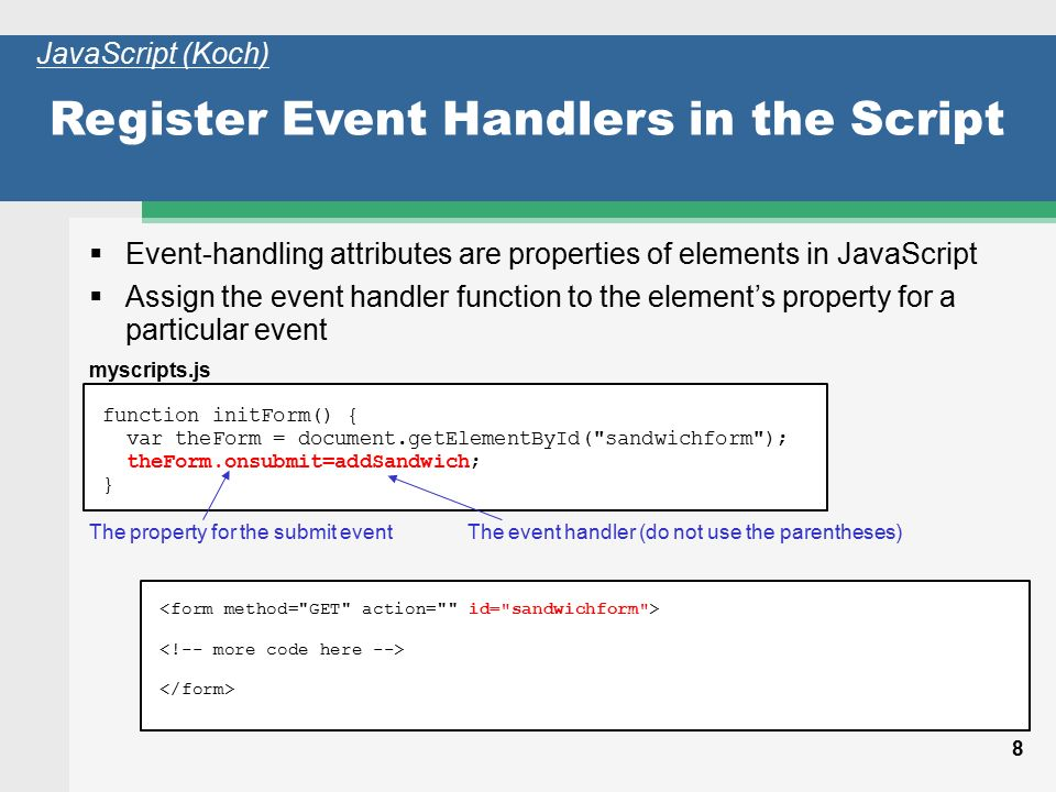 JavaScript, Part 3 Instructor: Charles Moen CSCI/CINF ppt download