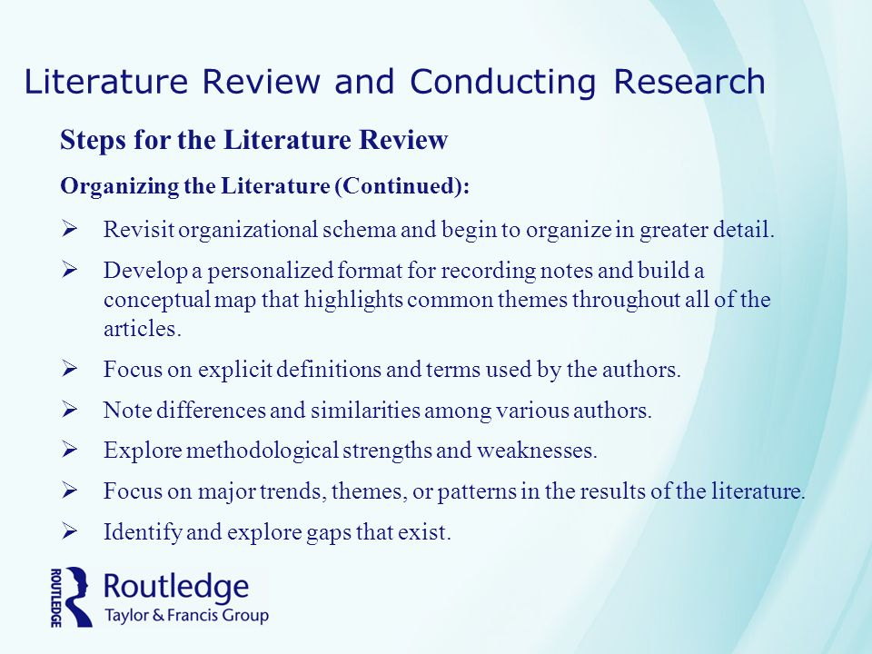 literature review software