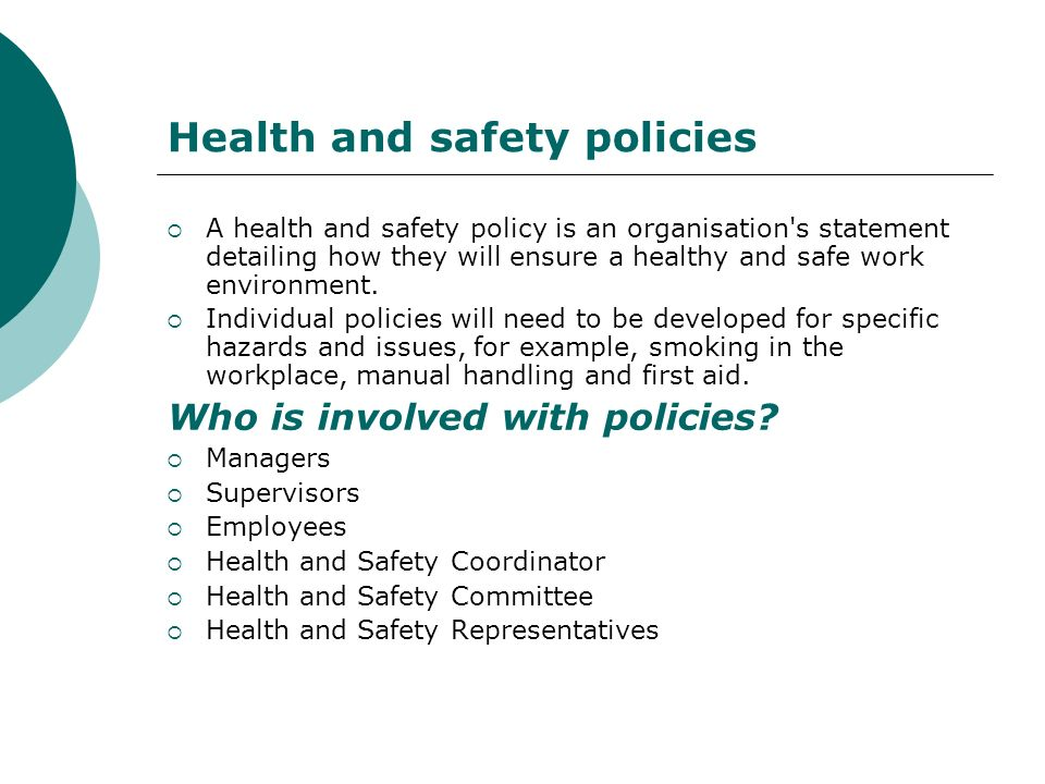 Participate In Occupational Health Safety  Welfare Ppt Download