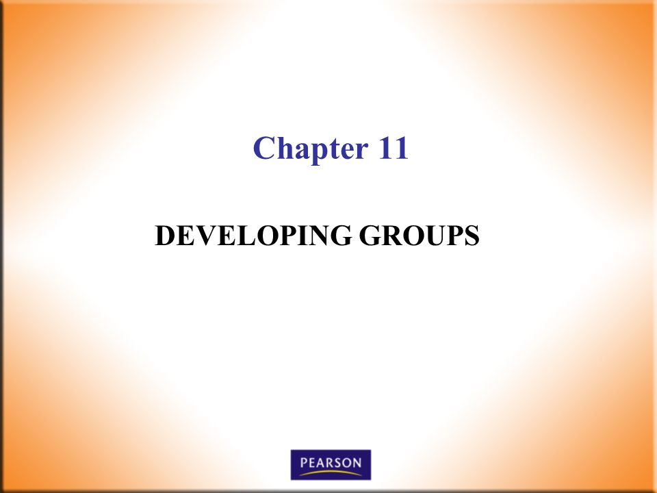 Chapter 11 DEVELOPING GROUPS